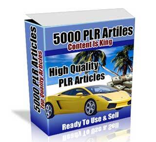 5000 PLR Article Pack with Private Label Rights (PLR)
