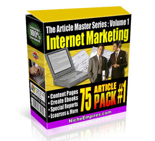 AMS Volume 1: Internet Marketing with Private Label Rights (PLR)