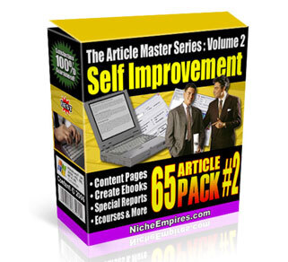 AMS Volume 2: Self Improvement with Private Label Rights (PLR)