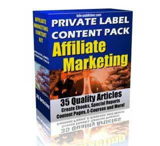 Private Label Content Pack 2 – Affiliate Marketing with Private Label Rights (PLR)