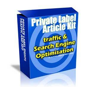 Traffic and SEO Article Pack with Private Label Rights (PLR)